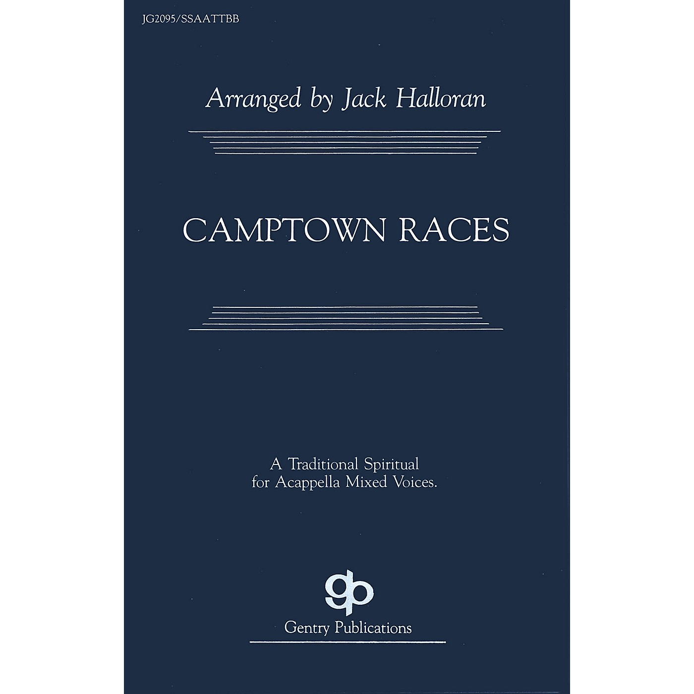 Fred Bock Music Camptown Races SATB arranged by Jack Halloran thumbnail