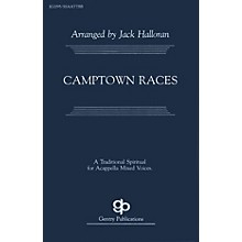 Camptown Races SATB arranged by Jack Halloran