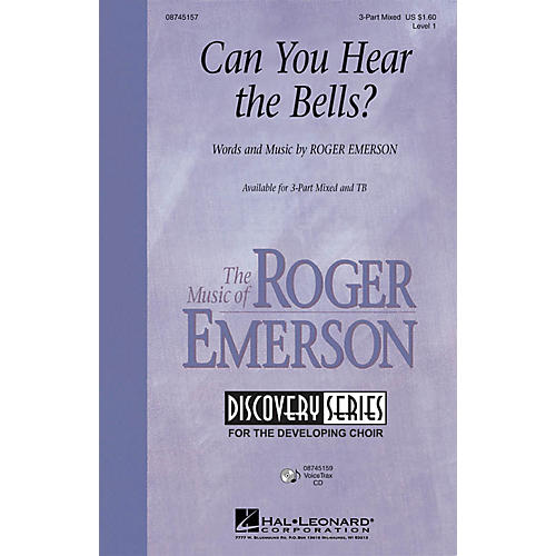 Hal Leonard Can You Hear the Bells? TB Composed by Roger Emerson thumbnail