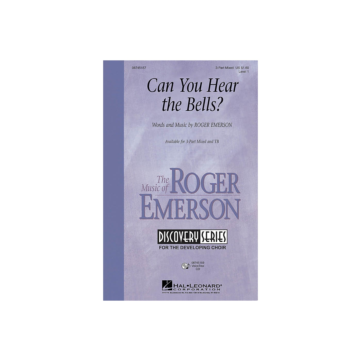 Hal Leonard Can You Hear the Bells? VoiceTrax CD Composed by Roger Emerson thumbnail