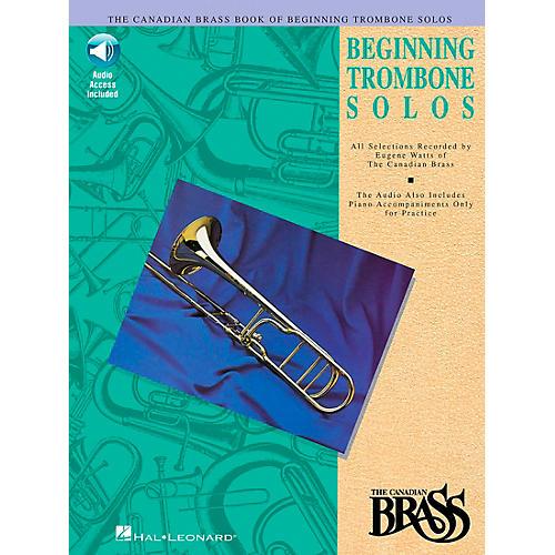 Hal Leonard Canadian Brass Beginning Trombone CD Package thumbnail
