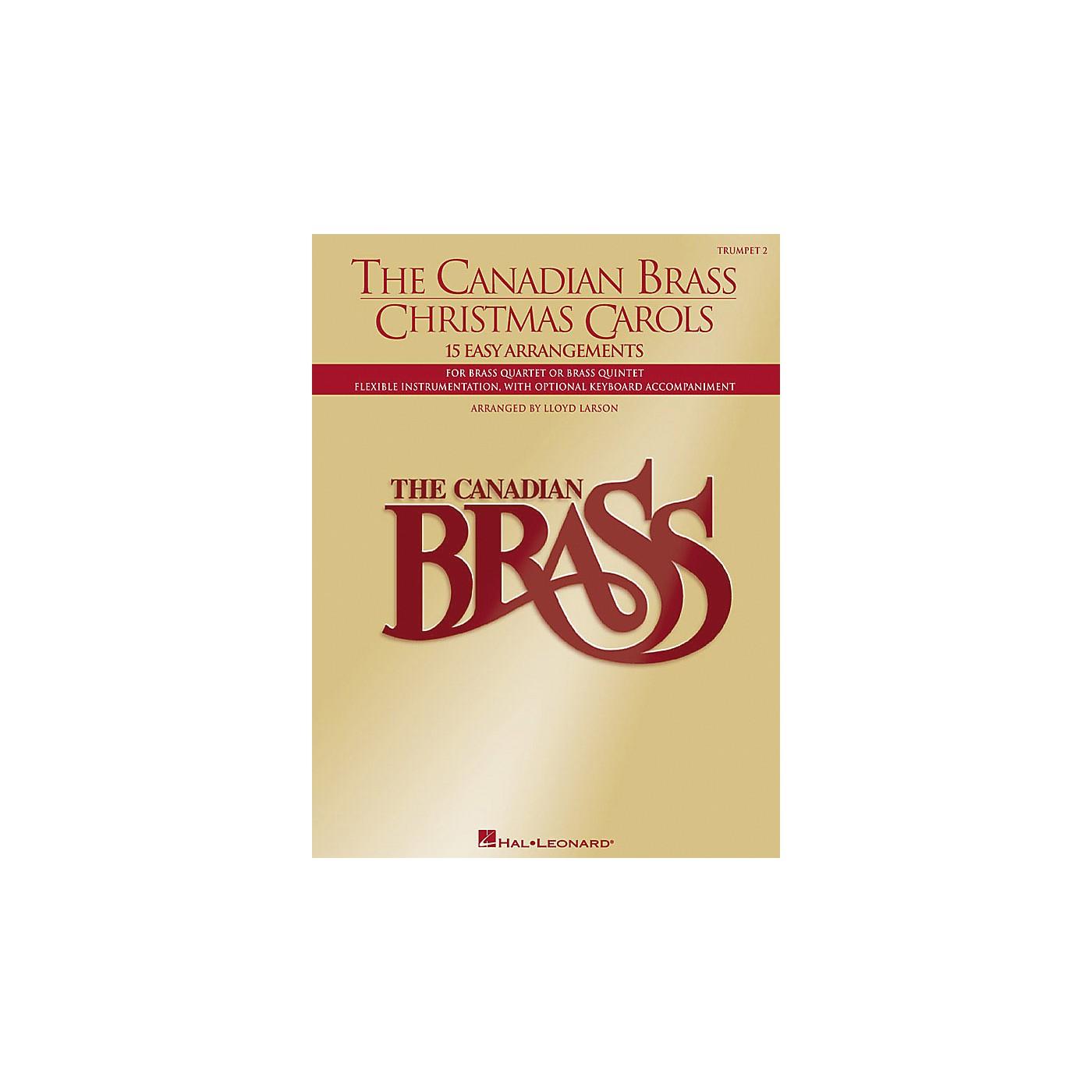 Hal Leonard Canadian Brass Christmas Carols (Brass / Trumpet) thumbnail