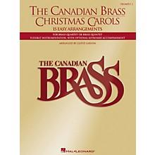 Hal Leonard Canadian Brass Christmas Carols (Brass / Trumpet)
