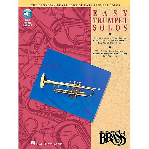 Hal Leonard Canadian Brass Easy Trumpet Book/CD thumbnail