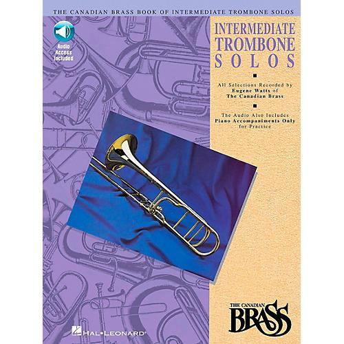 Hal Leonard Canadian Brass Intermediate Trombone Book/CD-thumbnail