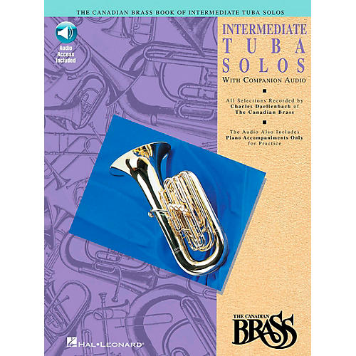 Hal Leonard Canadian Brass Intermediate Tuba Solo CD/Pkg thumbnail