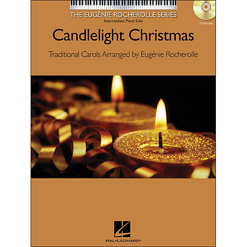 Hal Leonard Candlelight Christmas - The Eugenie Rocherolle Series Book/CD arranged for piano solo thumbnail