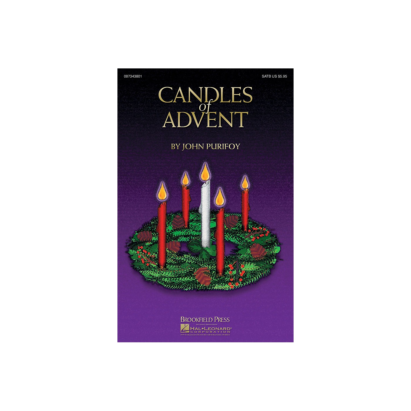Brookfield Candles of Advent PREV CD Arranged by John Purifoy thumbnail