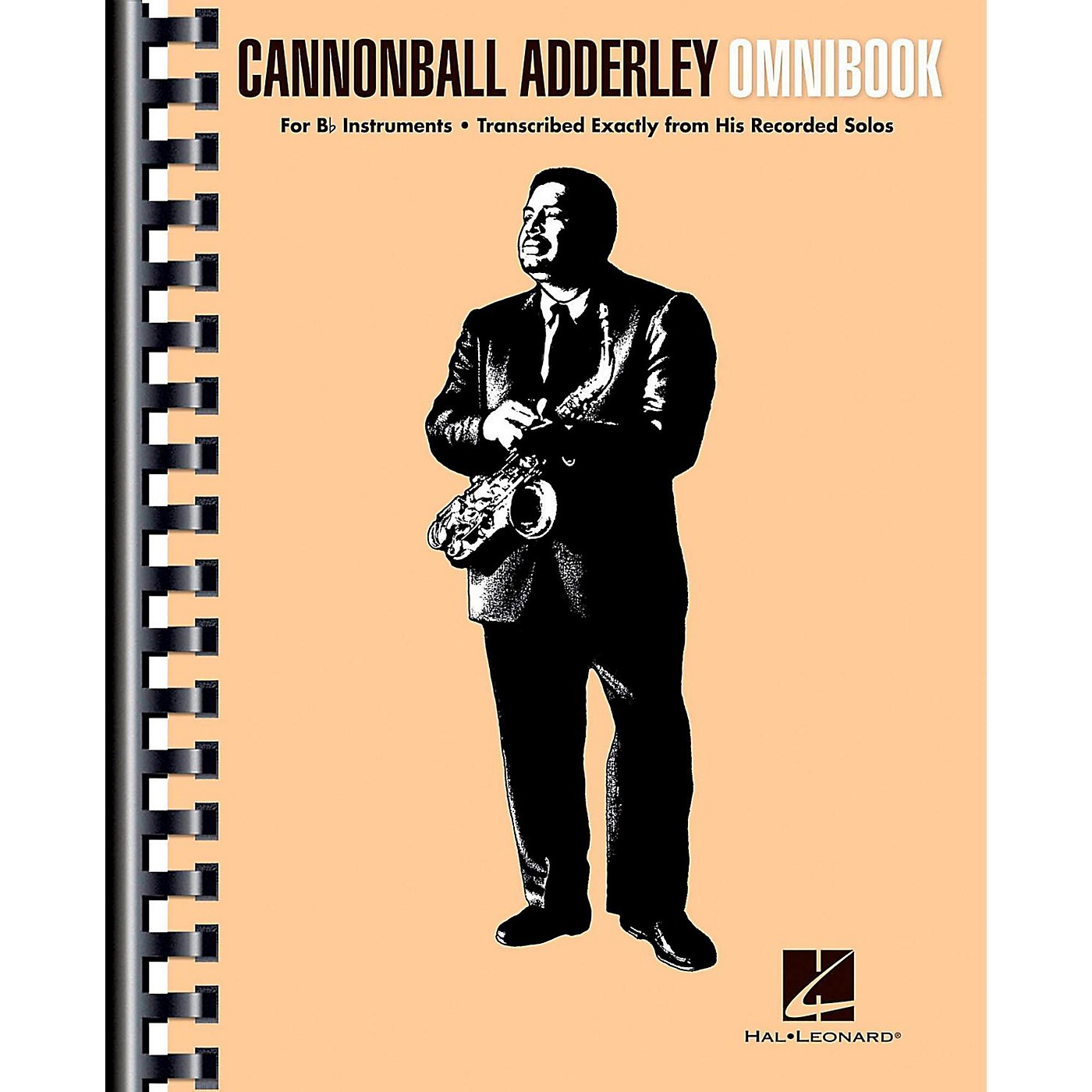 Hal Leonard Cannonball Adderley - Omnibook for B-Flat Instruments thumbnail