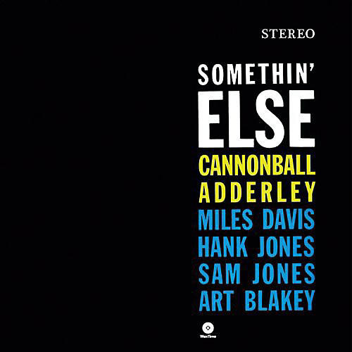 Alliance Cannonball Adderley - Somethin Else thumbnail