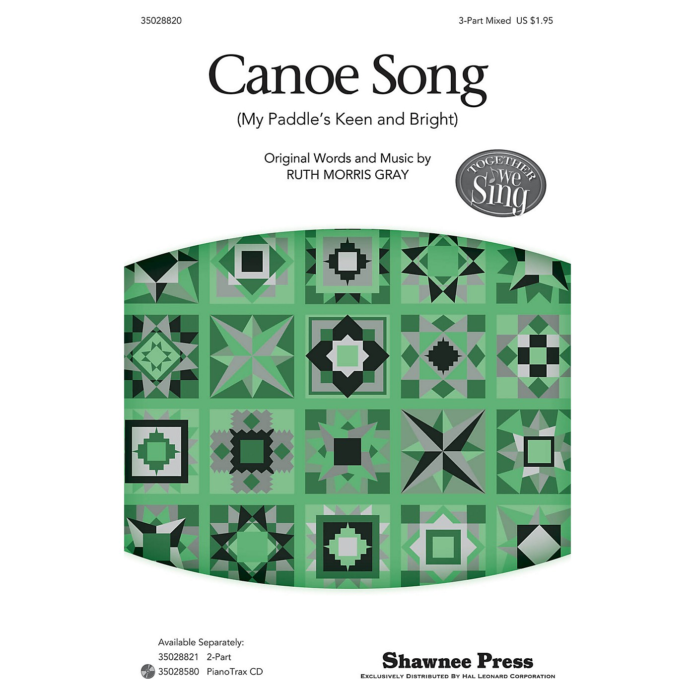 Shawnee Press Canoe Song (Together We Sing Series) 3-Part Mixed arranged by Ruth Morris Gray thumbnail
