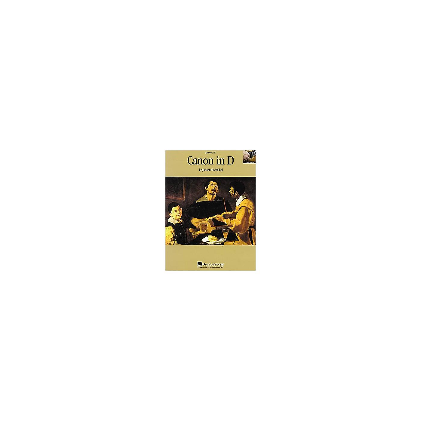 Hal Leonard Canon in D Guitar Sheet Music Book thumbnail