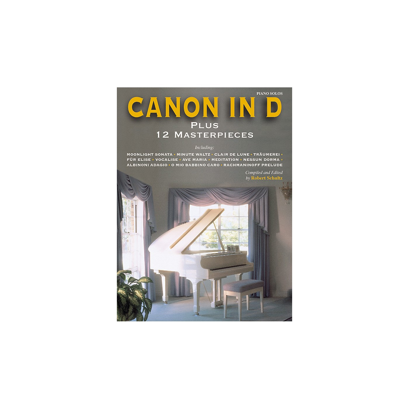 Alfred Canon in D Plus 12 Masterpieces for Piano (Book) thumbnail