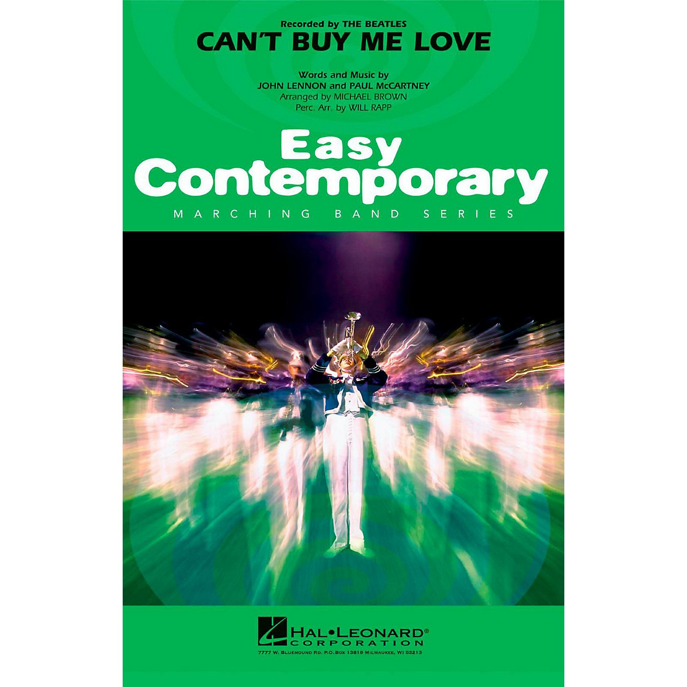 Hal Leonard Can't Buy Me Love - Easy Pep Band/Marching Band Level 2 thumbnail