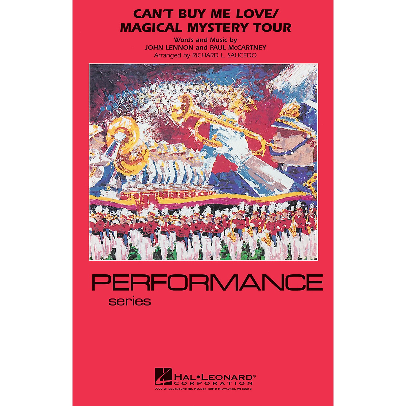 Hal Leonard Can't Buy Me Love/Magical Mystery Tour Marching Band Level 4 by The Beatles Arranged by Richard Saucedo thumbnail