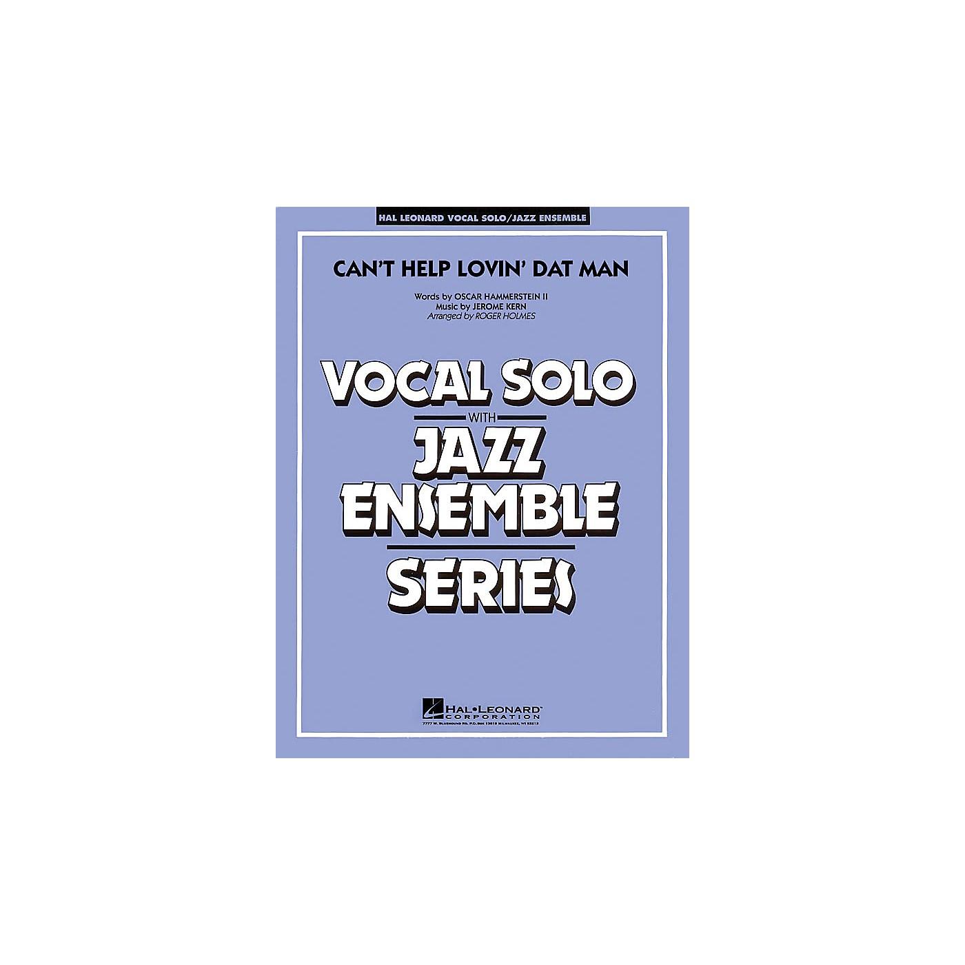 Hal Leonard Can't Help Lovin' Dat Man (Key: C, Db, D) Jazz Band Level 4 Composed by Jerome Kern thumbnail