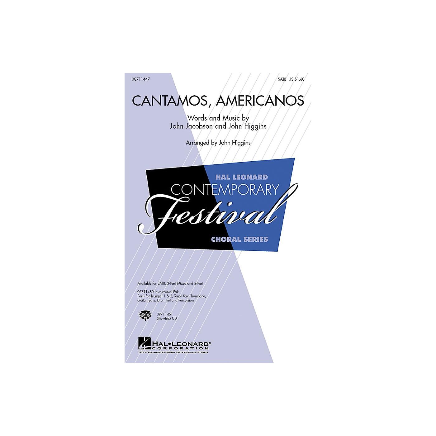 Hal Leonard Cantamos, Americanos (A Salute to the Music of Latin America) 2-Part by John Jacobson, John Higgins thumbnail