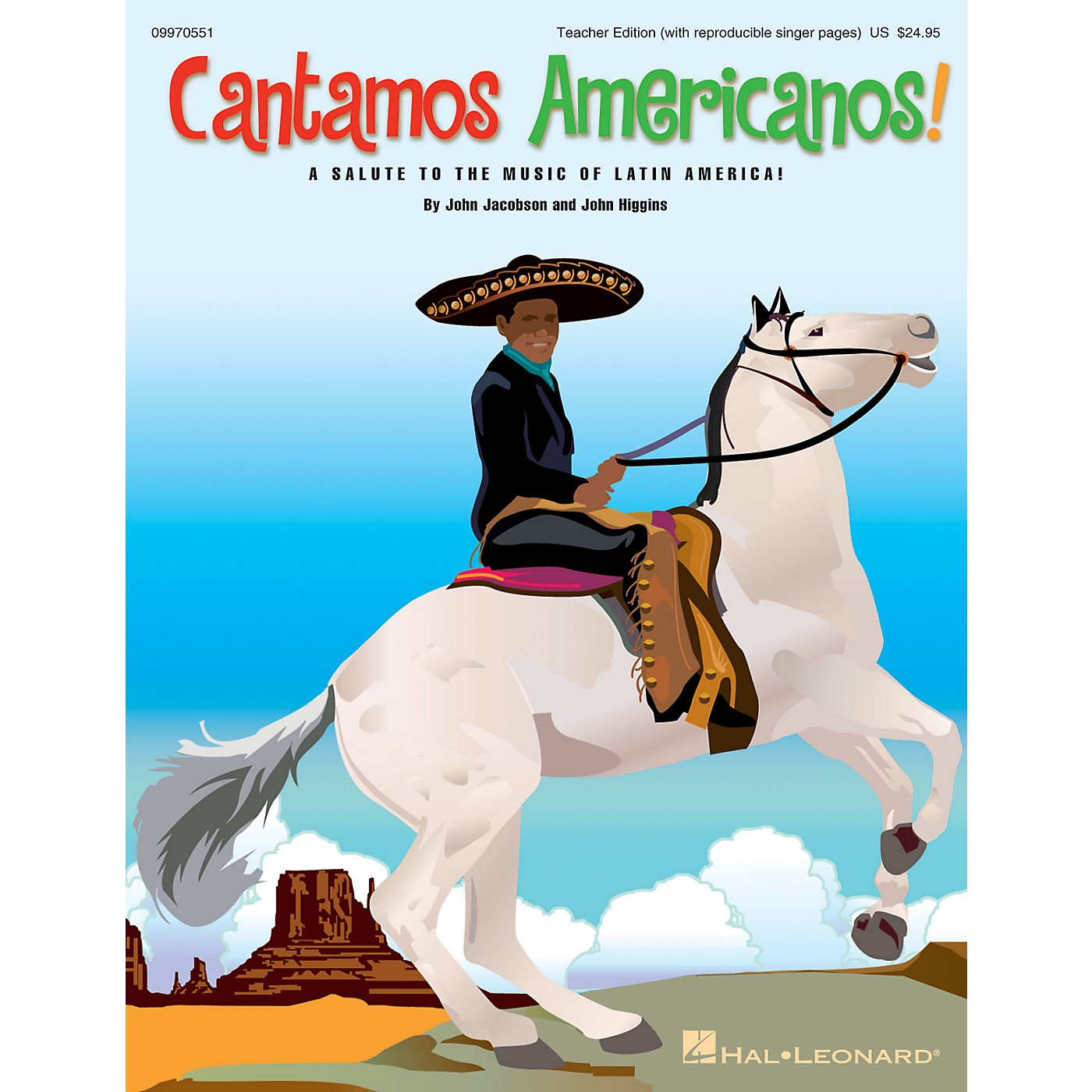 Hal Leonard Cantamos Americanos! (A Salute to the Music of Latin America) CLASSRM KIT by John Jacobson, John Higgins thumbnail
