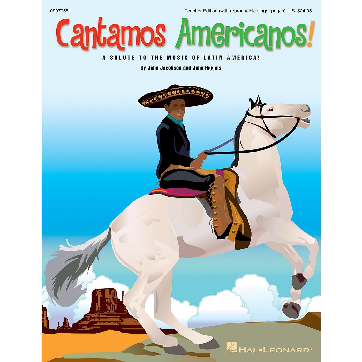 Hal Leonard Cantamos Americanos! (A Salute to the Music of Latin America) ShowTrax CD by John Jacobson, John Higgins thumbnail