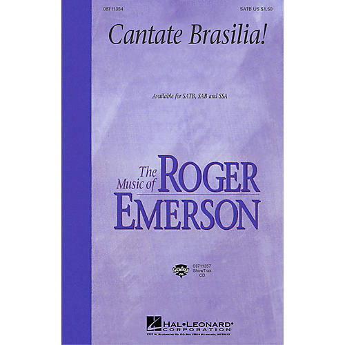 Hal Leonard Cantate Brasilia (SSA) SSA Composed by Roger Emerson thumbnail