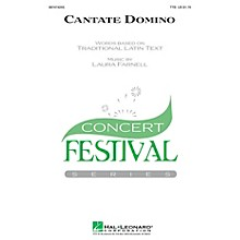 Hal Leonard Cantate Domino SSA Composed by Laura Farnell