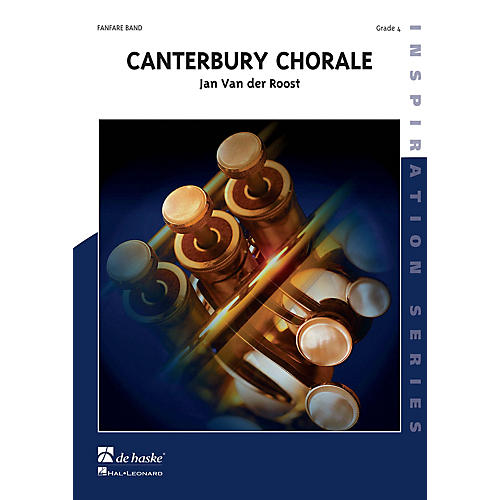 De Haske Music Canterbury Chorale (Score Only) Concert Band Composed by Jan Van der Roost thumbnail