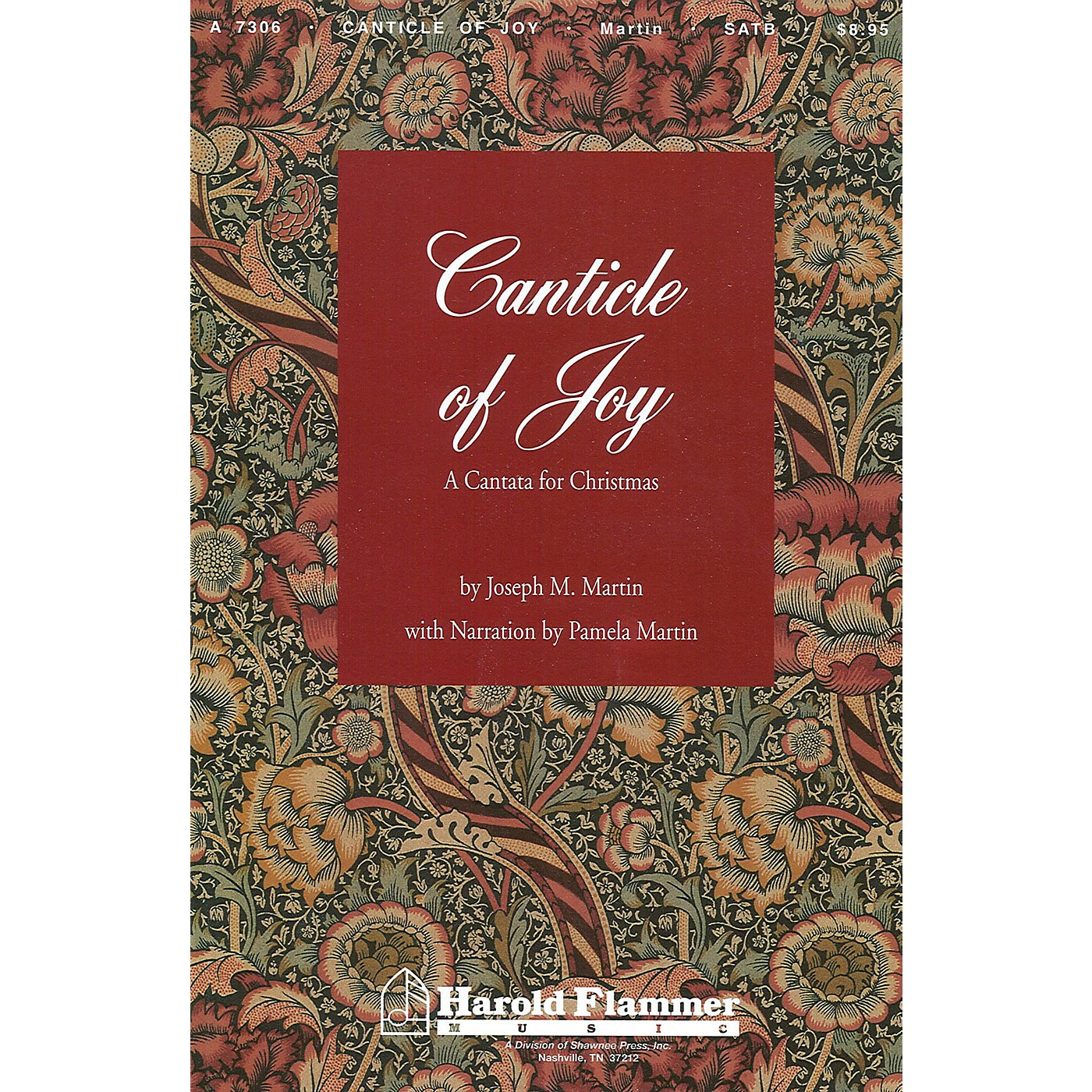 Shawnee Press Canticle of Joy CD 10-PAK Composed by Joseph M. Martin thumbnail