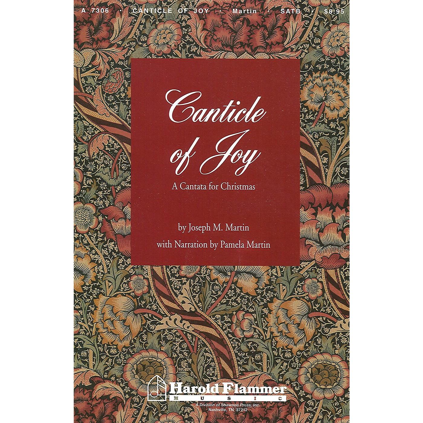 Shawnee Press Canticle of Joy SATB composed by Joseph M. Martin thumbnail