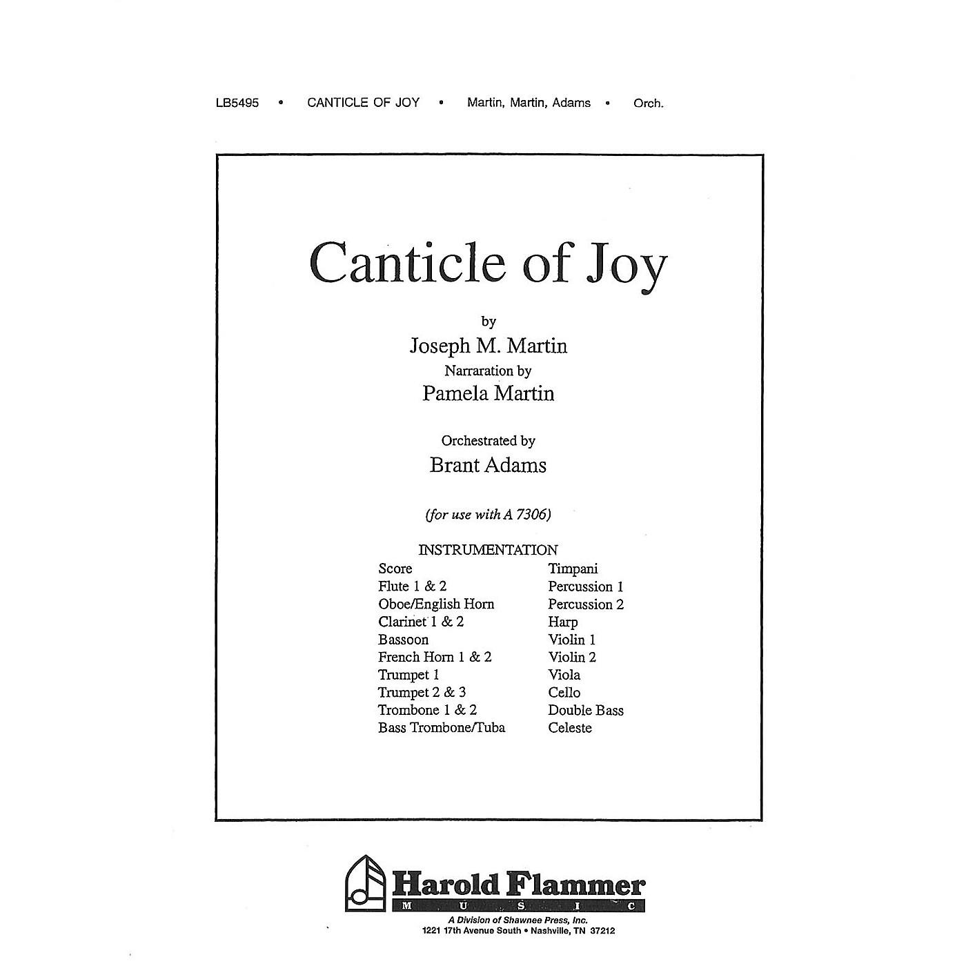 Shawnee Press Canticle of Joy Score & Parts composed by Joseph M. Martin thumbnail