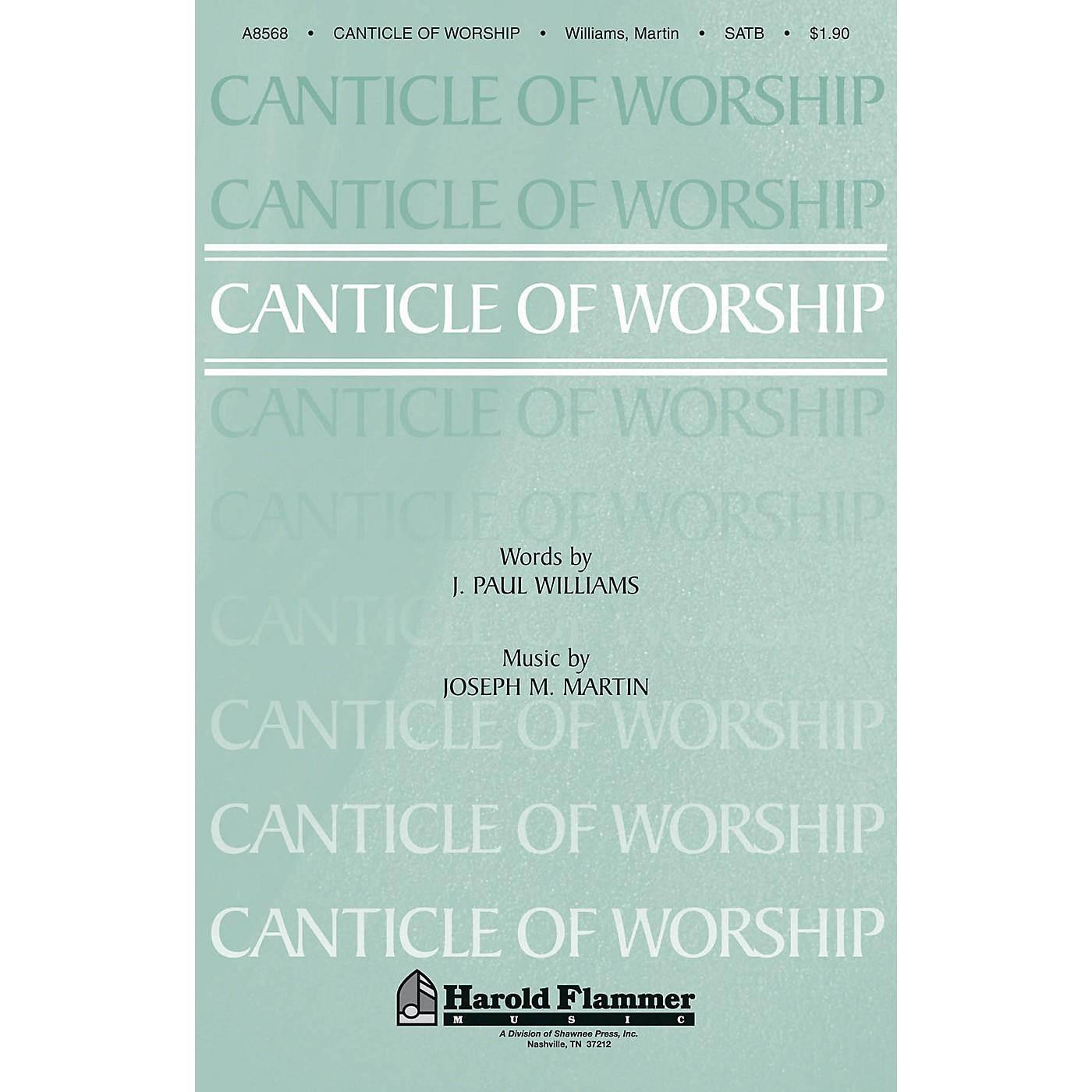 Shawnee Press Canticle of Worship SATB composed by Joseph M. Martin thumbnail