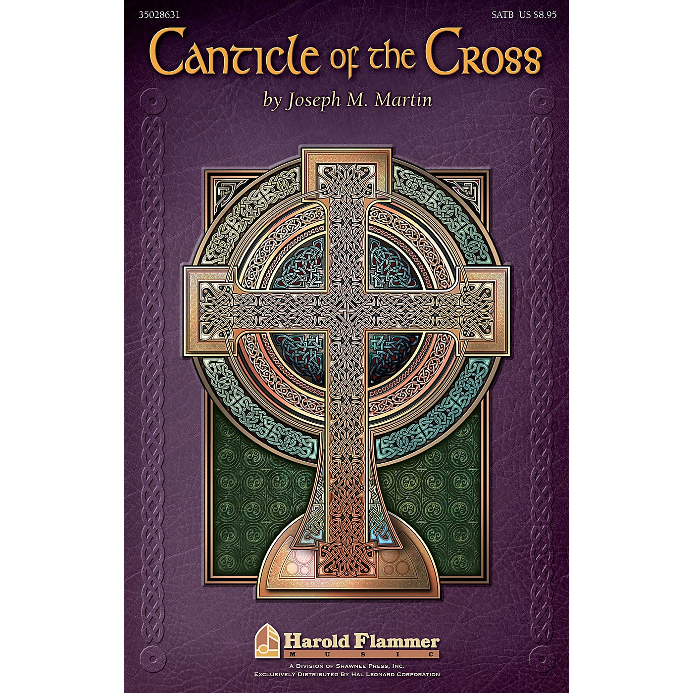 Shawnee Press Canticle of the Cross (10-Pack Listening CDs) 10 LISTENING CDS Composed by Joseph M. Martin thumbnail