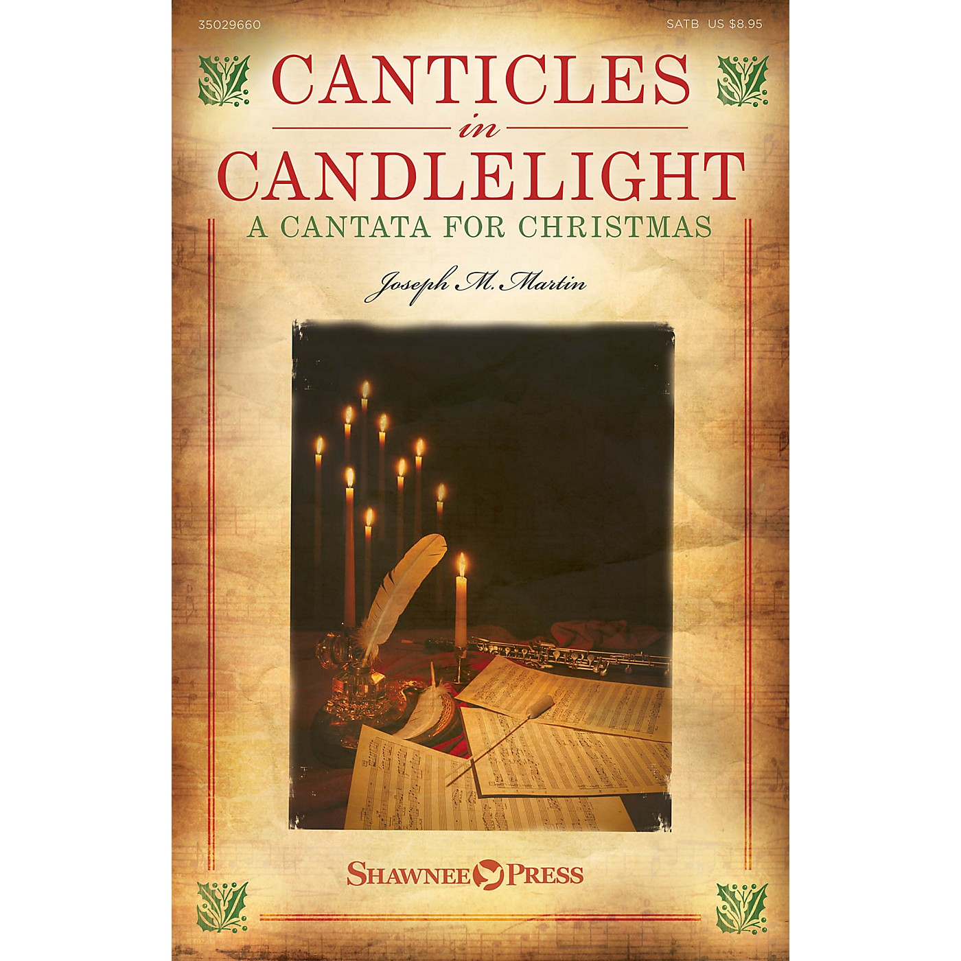Shawnee Press Canticles in Candlelight (A Cantata for Christmas) SATB composed by Joseph M. Martin thumbnail