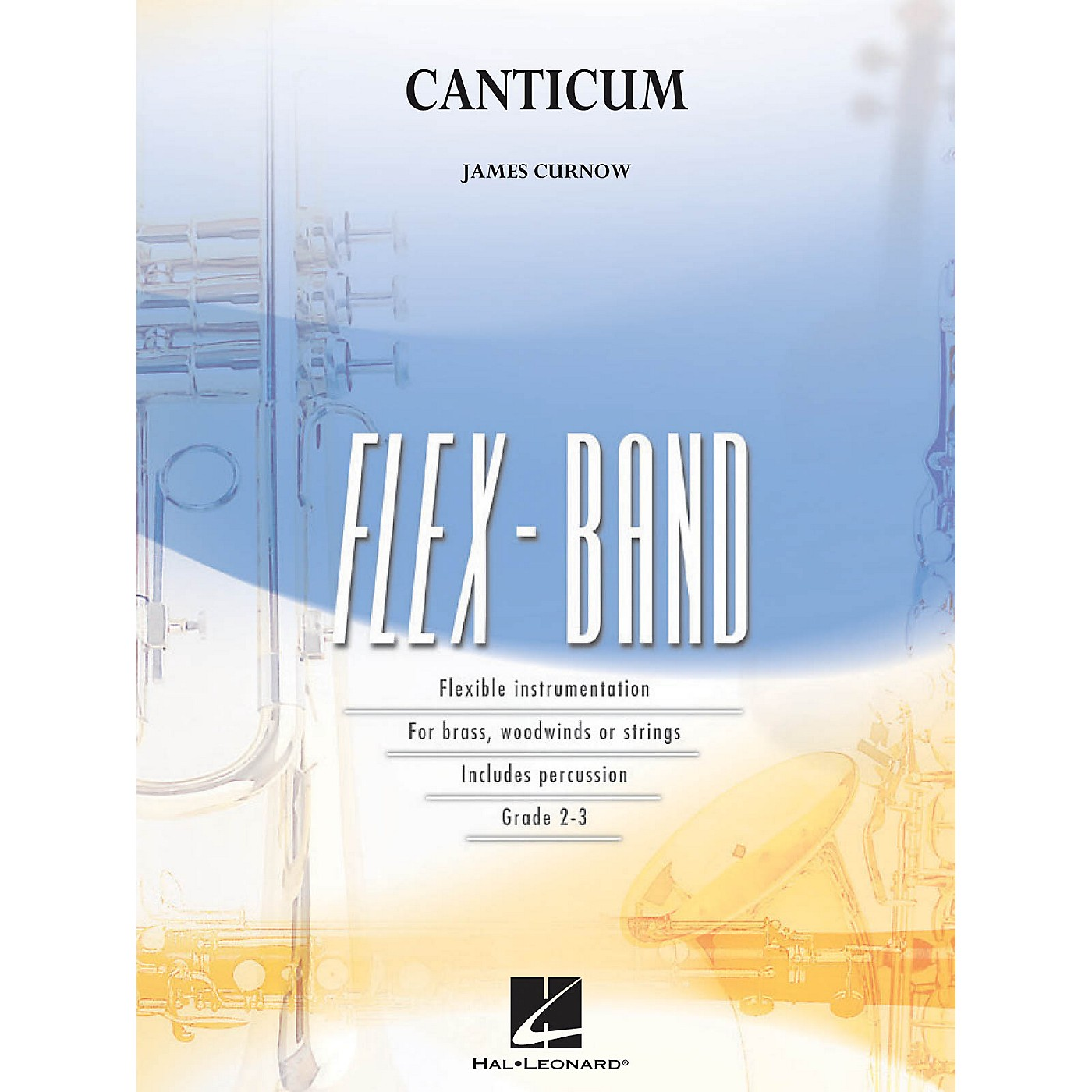 Hal Leonard Canticum Concert Band Level 2-3 Composed by James Curnow thumbnail