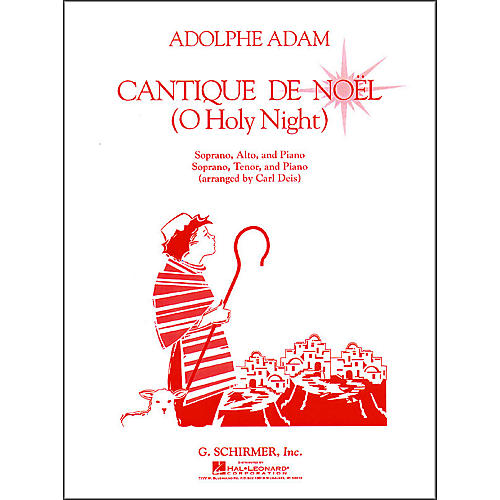 G. Schirmer Cantique De Noel  (O Holy Night) Vocal Duets-thumbnail