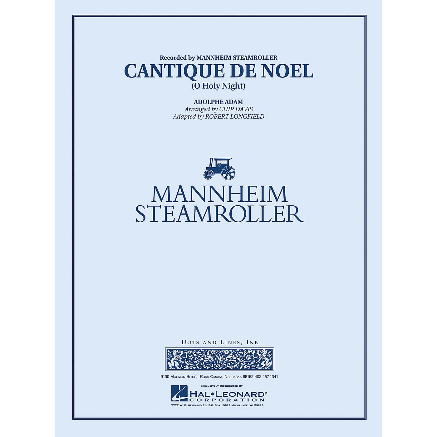 Hal Leonard Cantique de Noel (O Holy Night) - Young Concert Band Series Level 3 arranged by Robert Longfield thumbnail