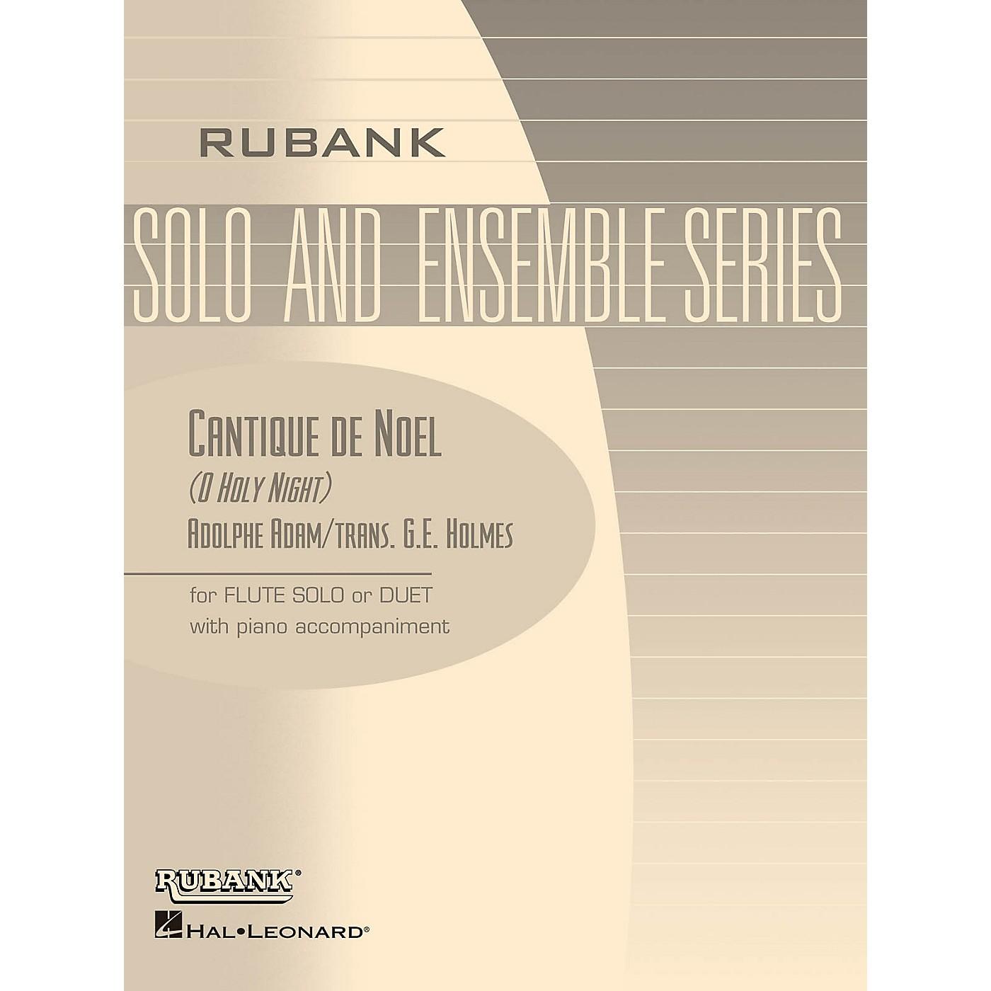 Rubank Publications Cantique de Noël (O Holy Night) Rubank Solo/Ensemble Sheet Series Arranged by G.E. Holmes thumbnail