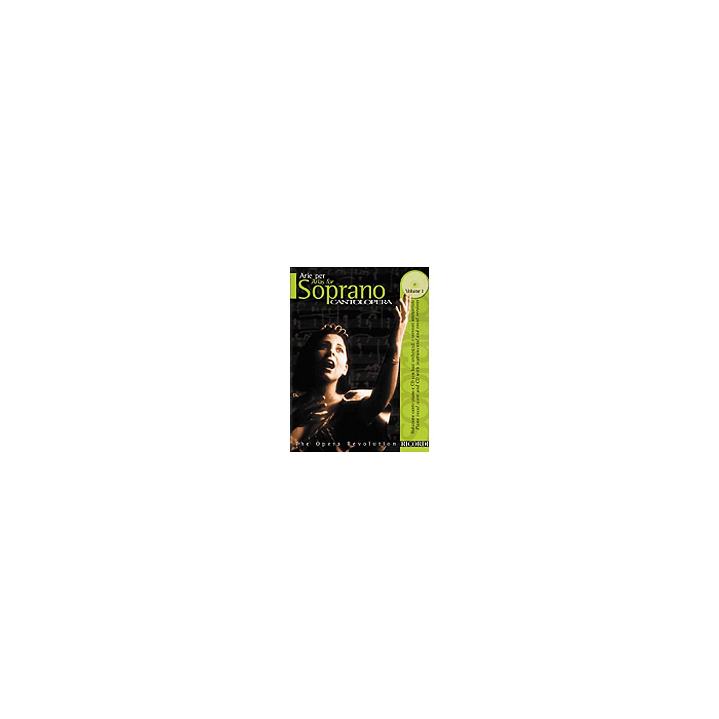Hal Leonard Cantolopera Arias for Soprano - Volume 1 Book/CD thumbnail