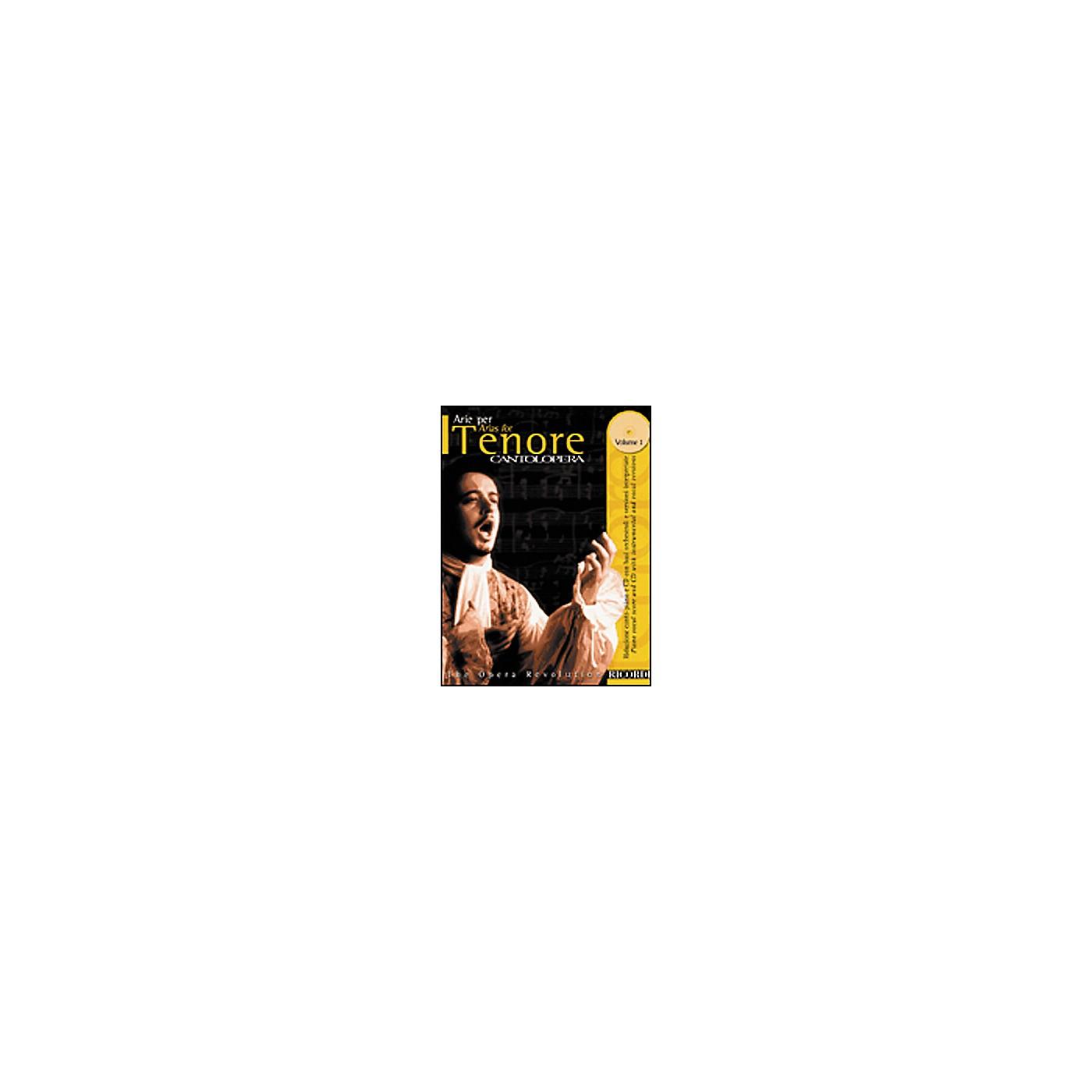 Hal Leonard Cantolopera Arias for Tenor - Volume 1 Book/CD thumbnail