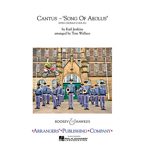 Arrangers Cantus (Song of Aeolus) Marching Band Level 4 Arranged by Tom Wallace thumbnail