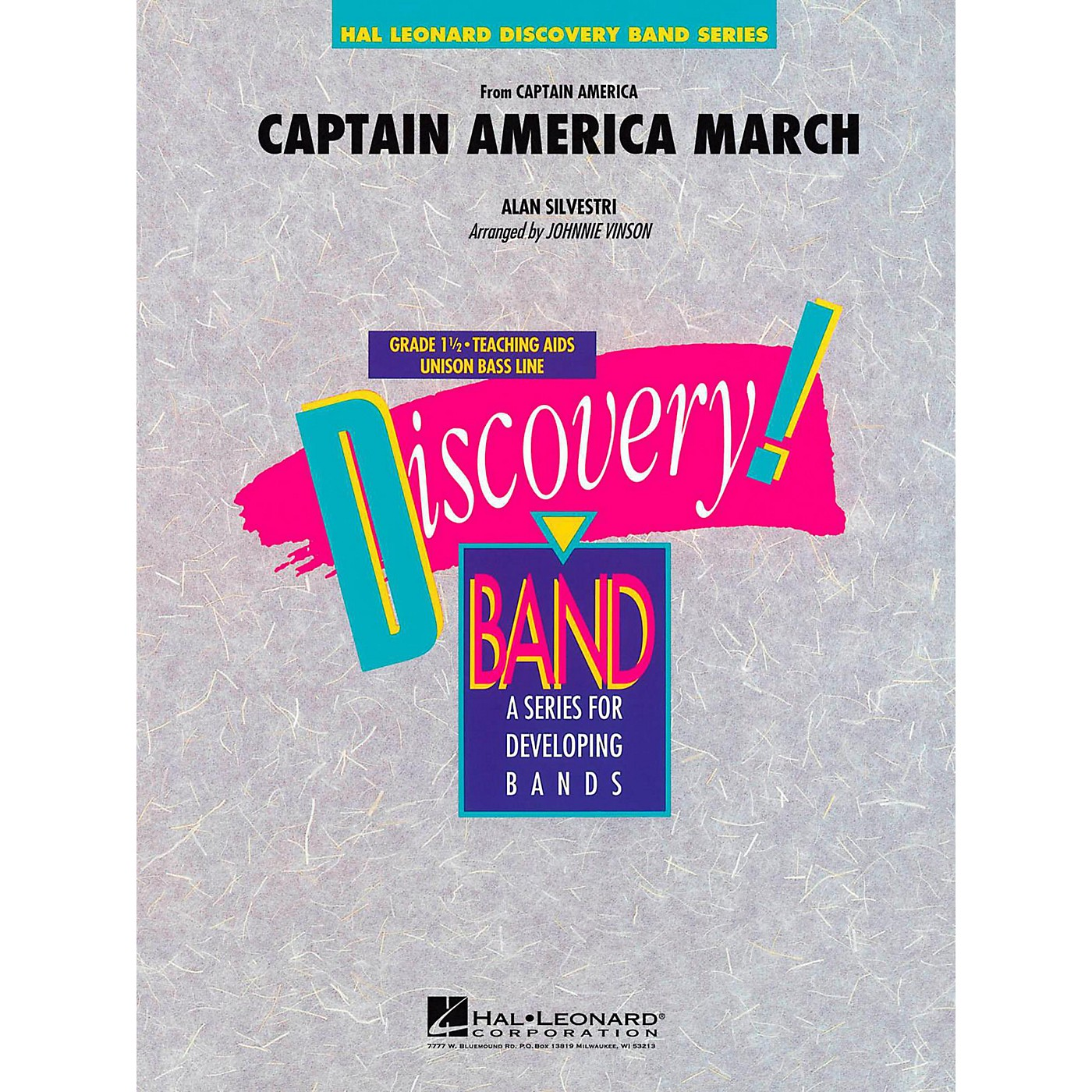 Hal Leonard Captain America March Concert Band Level 1.5 thumbnail