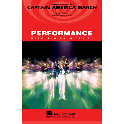 Hal Leonard Captain America March Marching Band Level 3 Arranged by Paul Murtha thumbnail