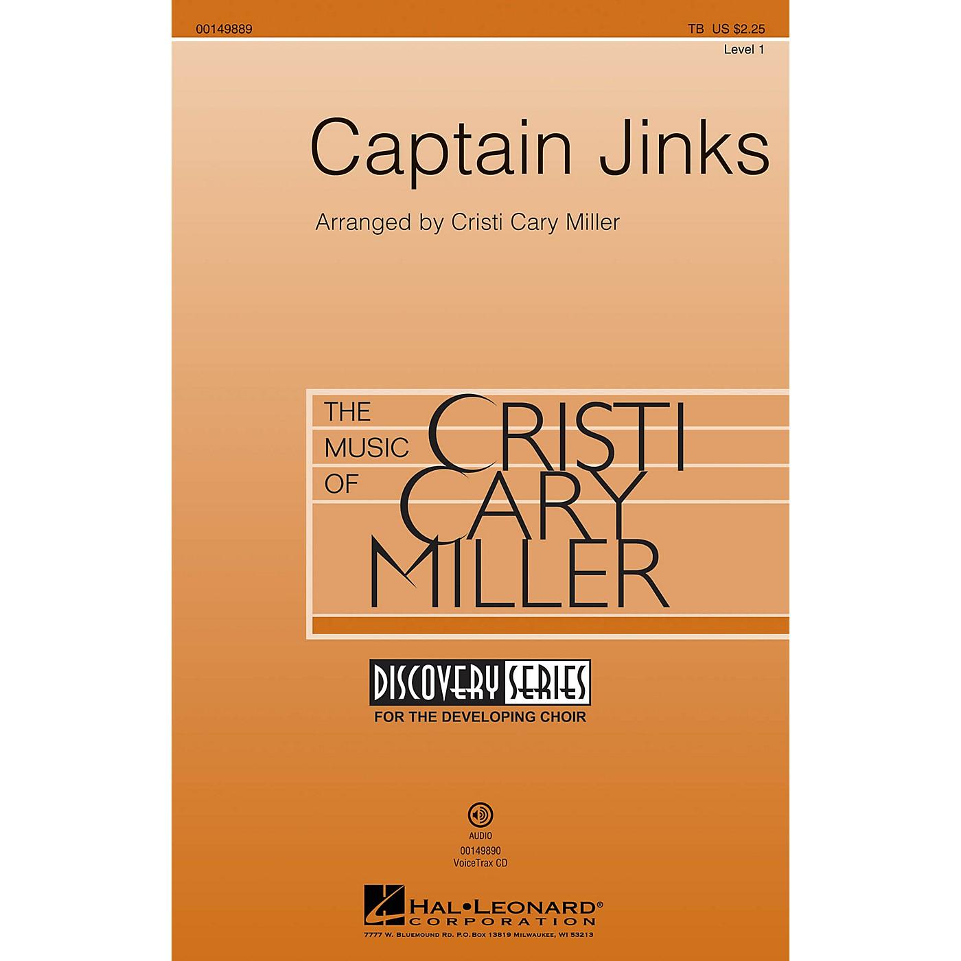 Hal Leonard Captain Jinks (Discovery Level 1) VoiceTrax CD Arranged by Cristi Cary Miller thumbnail