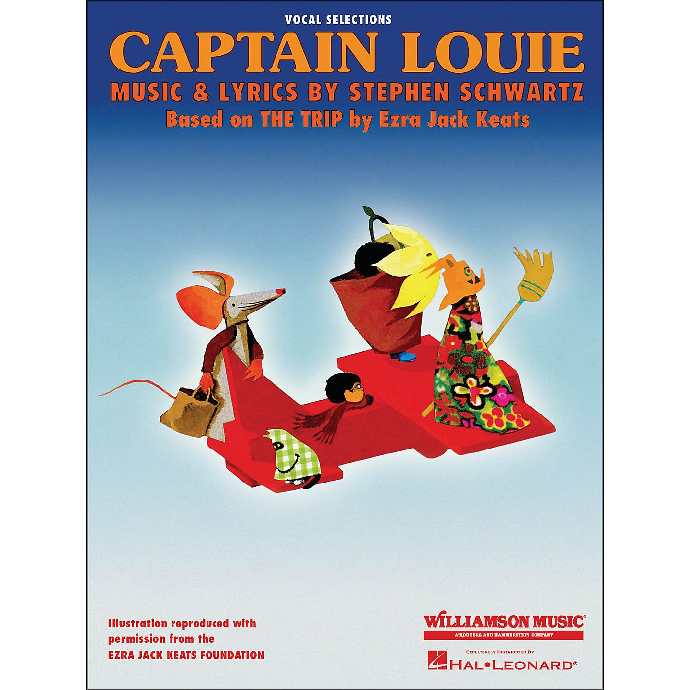 Hal Leonard Captain Louie Vocal Selections arranged for piano, vocal, and guitar (P/V/G) thumbnail