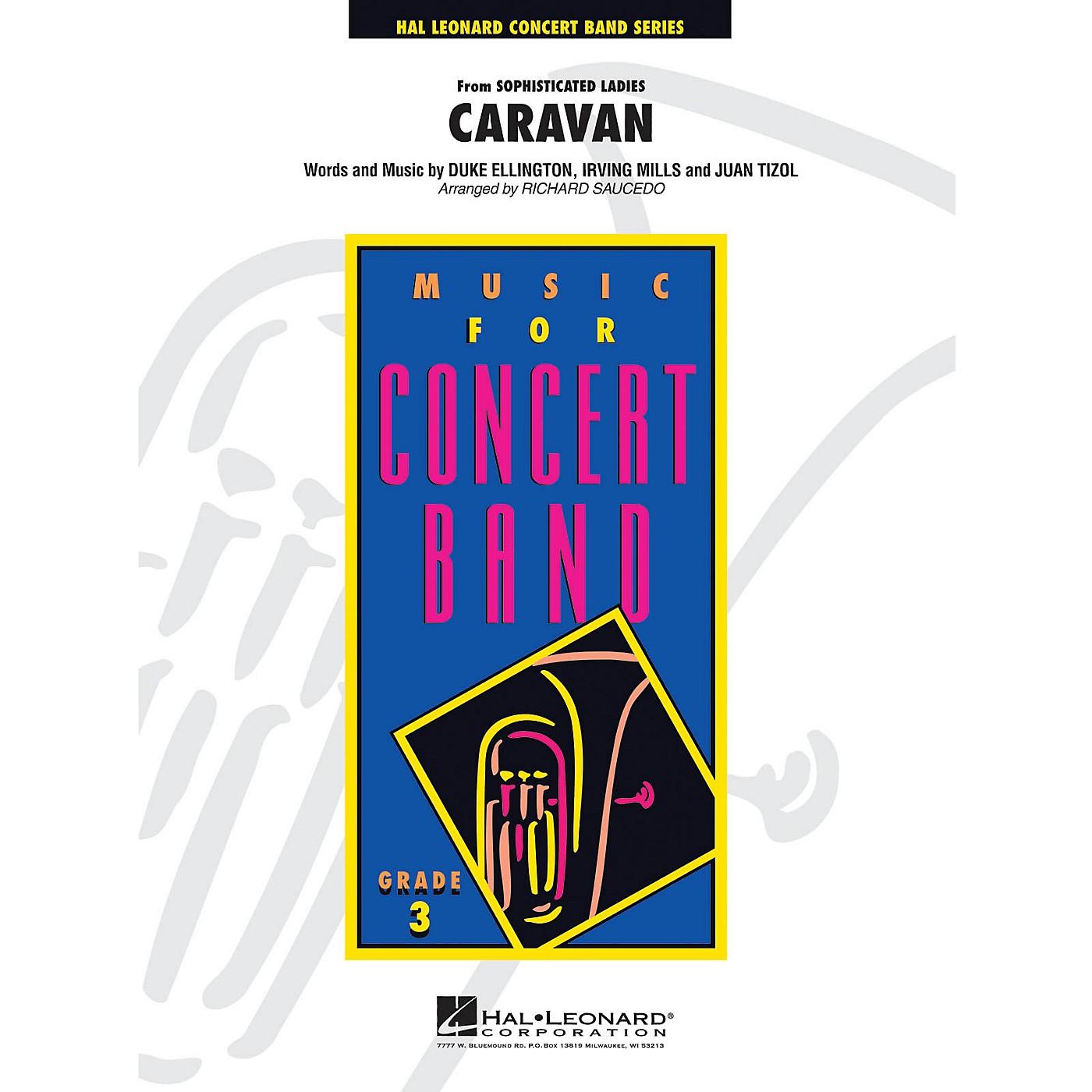 Hal Leonard Caravan - Young Concert Band Series Level 3 arranged by Richard Saucedo thumbnail