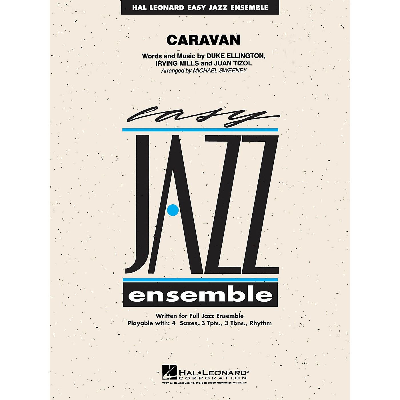 Hal Leonard Caravan Jazz Band Level 2 by Duke Ellington Arranged by Michael Sweeney thumbnail