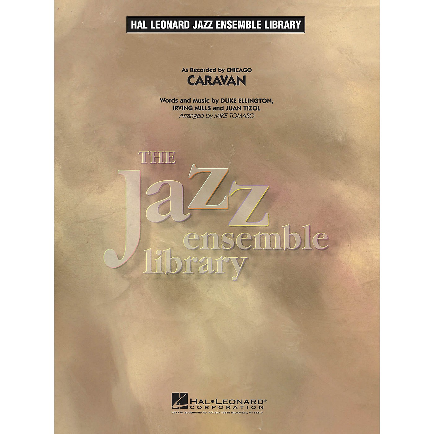 Hal Leonard Caravan Jazz Band Level 4 by Chicago Arranged by Mike Tomaro thumbnail