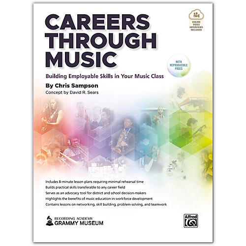 Alfred Careers Through Music Book & Streaming Video thumbnail