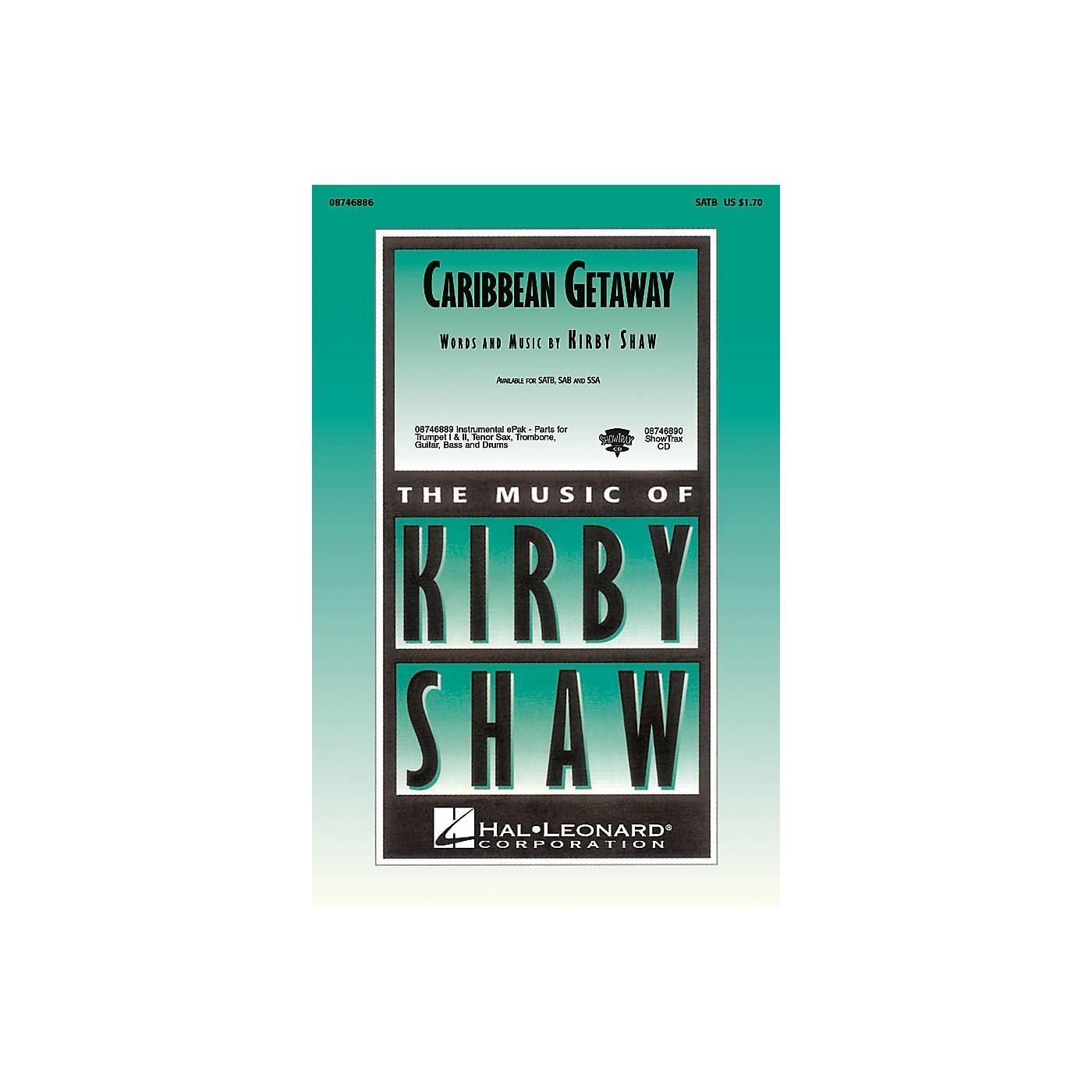 Hal Leonard Caribbean Getaway SATB composed by Kirby Shaw thumbnail