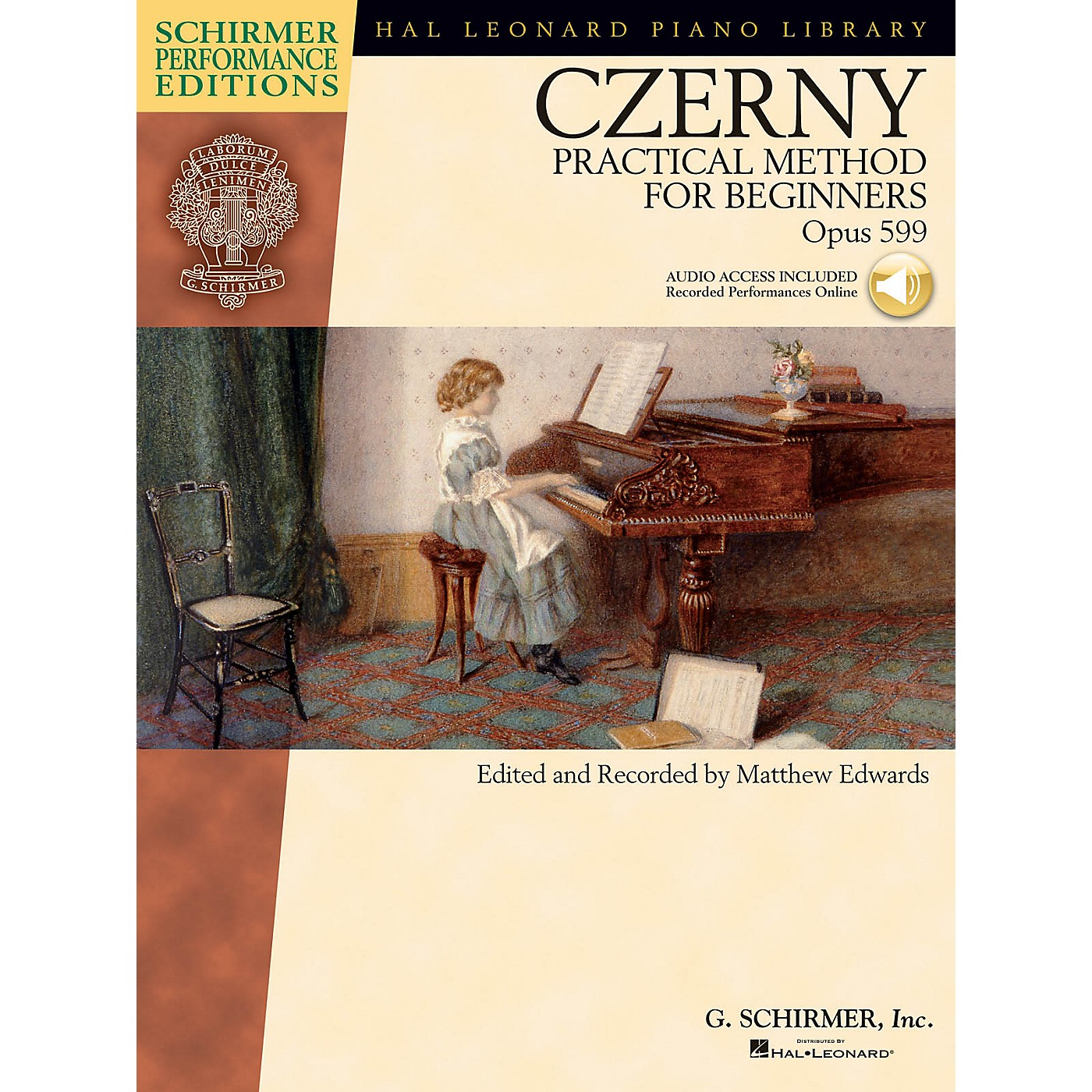 G. Schirmer Carl Czerny - Practical Method for Beginners, Op. 599 Schirmer Performance Edition BK/Audio Online thumbnail