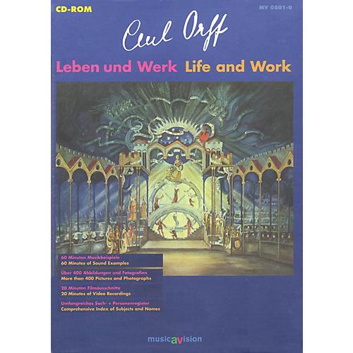 Schott Carl Orff: Life and Work (German/English) Schott Series CD-ROM thumbnail